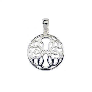 Pretty Celtic Silver Pendant